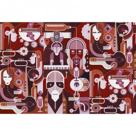 Fototapety wall of sound2 DD113337 Livingwalls Walls by Patel