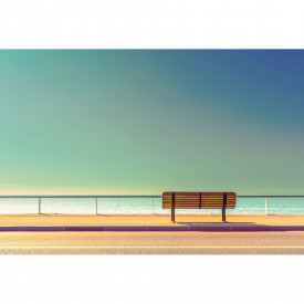 Fototapety Bench and Sea DD118957 A.S. Création Designwalls